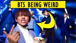 They're not weird, They're just BTS 😆