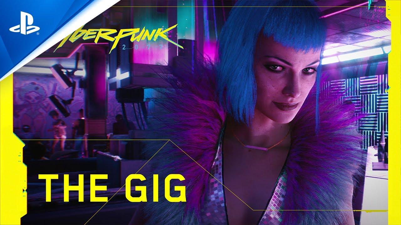 『サイバーパンク2077』 — 公式トレーラー — The Gig