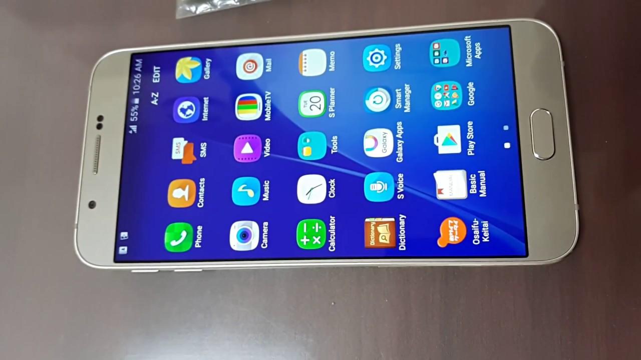 Unlock Galaxy A8 SCV32