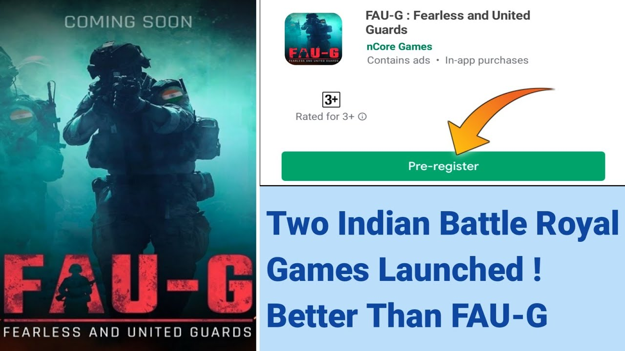 Two Indian Battle Royal Games Launched | Better than FAUG | Full Details & FAUG Release Date