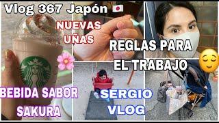 VLOG 367 REGLAS DE MI TRABAJO EN JAPON+ BEBIDA POPULAR DE CEREZO+ NUEVAS UÑAS