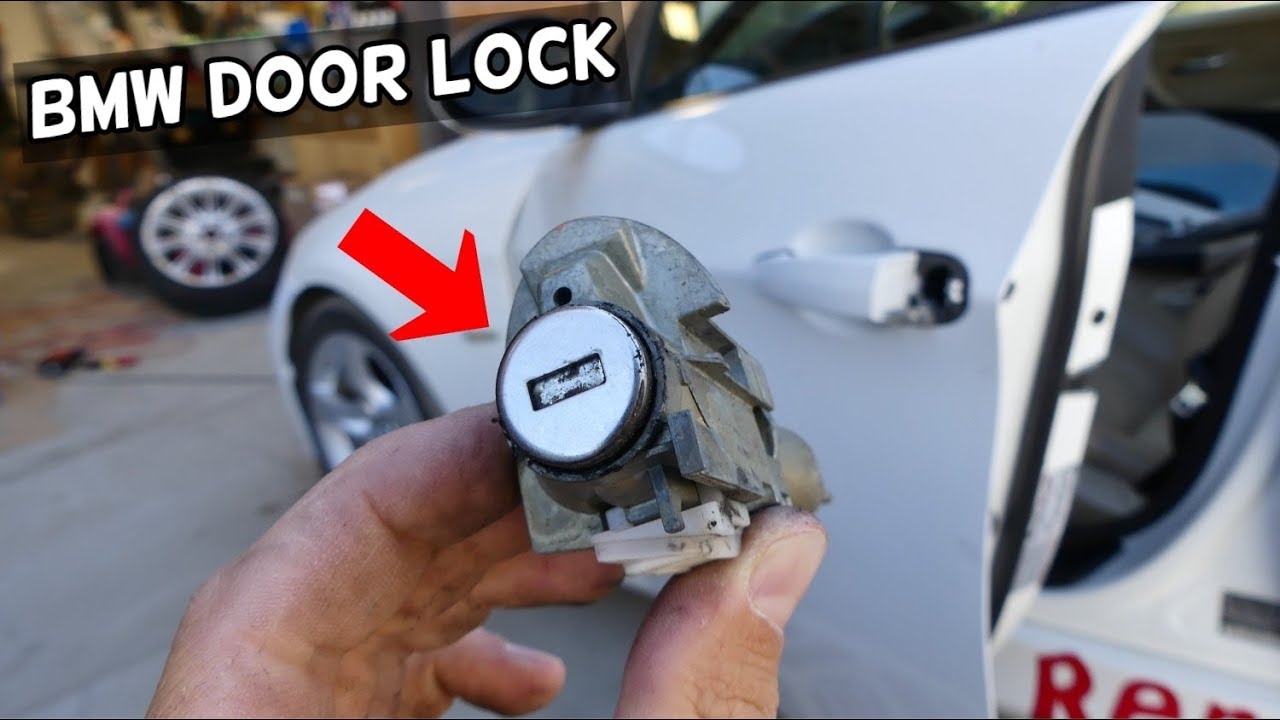 How To Replace Cylinder Door Lock On Bmw E90 E91 E92 E93 Youtube