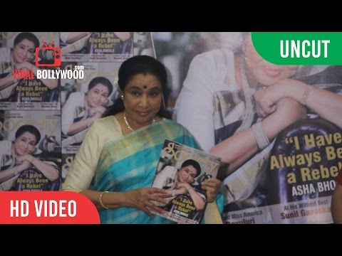 UNCUT - Asha Bhosle On Stardust Cover Page  Of Society Magazine | Viralbollywood Entertainment