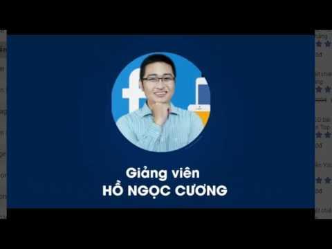 FACEBOOK MARKETING TỪ A – Z:Hồ Ngọc Cương-Mô hình kinh doanh trực tuyến