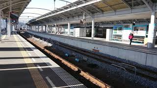 2600系特急うずしお9号(2B)高松駅入線No.2