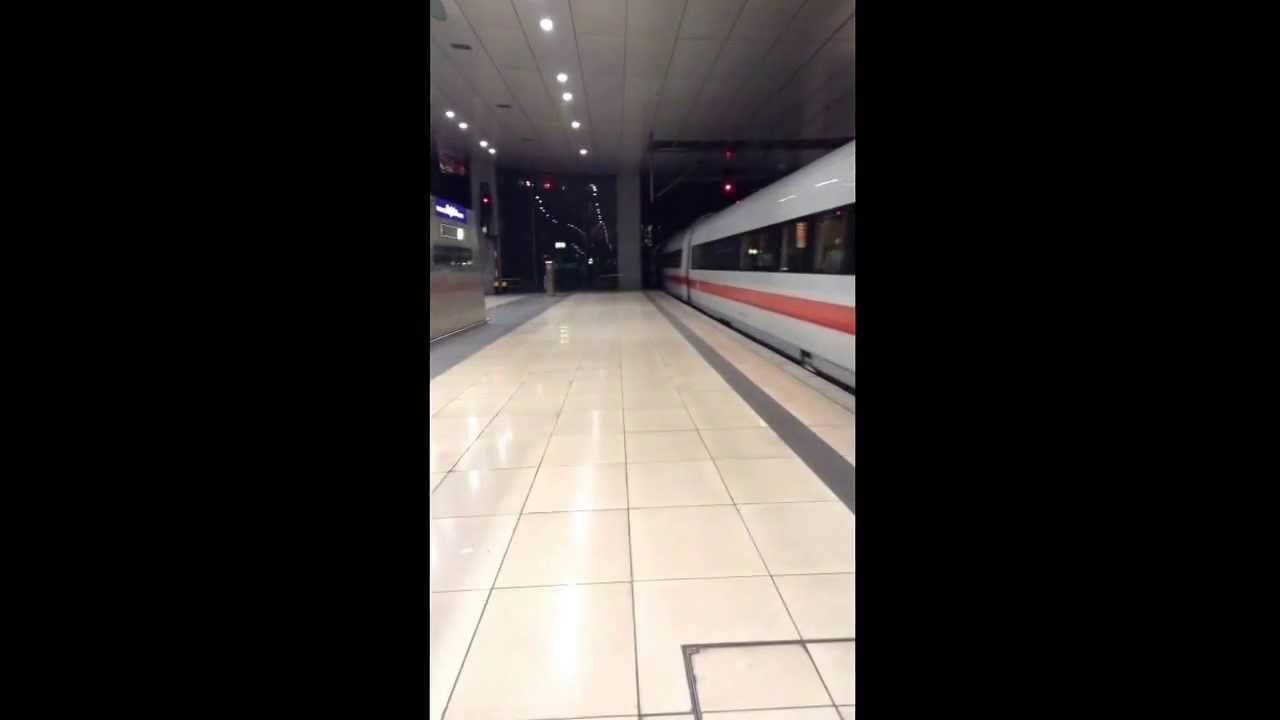 Ankunft Frankfurt Main Flughafen