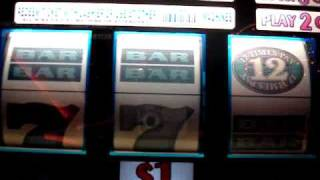 12 Times Pay $1 Slot Machine in Las Vegas