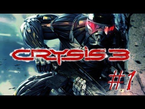 Смотреть прохождение игры Crysis 3. Серия 1 - Постчеловек.