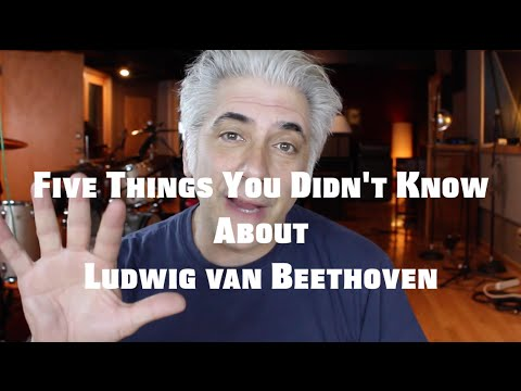Five Things You Didn't Know About Beethoven   Famous Composers