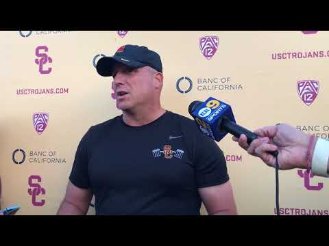 USC Football - Utah Wednesday: Clay Helton