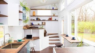 Stunning Beautiful 26' Luxurious Spacious Brand New Tiny Home | Living Design For A Tiny House