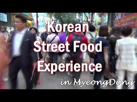 Experience Myeong-Dong's Street Food Culture