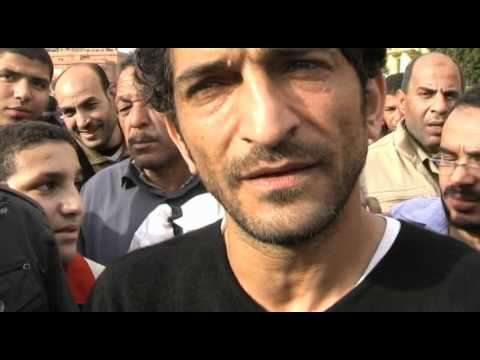 Amr Waked , a famous Egyptian actor comments on the events in Cairo