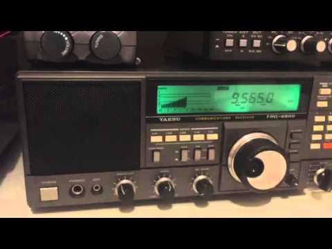 9565 KHz Radio Marti Greenville, USA, Yaesu FRG-8800
