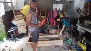 Pembuatan Sofa Kayu Jati
