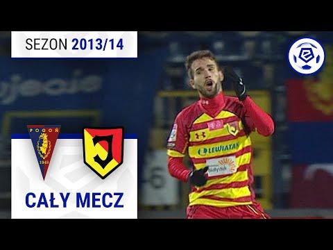 Pogoń Szczecin - Jagiellonia Białystok [2. połowa] sezon 2013/14 kolejka 20
