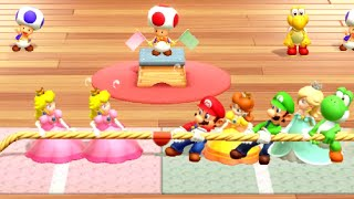 Peach vs All Characters in Super Mario Party
