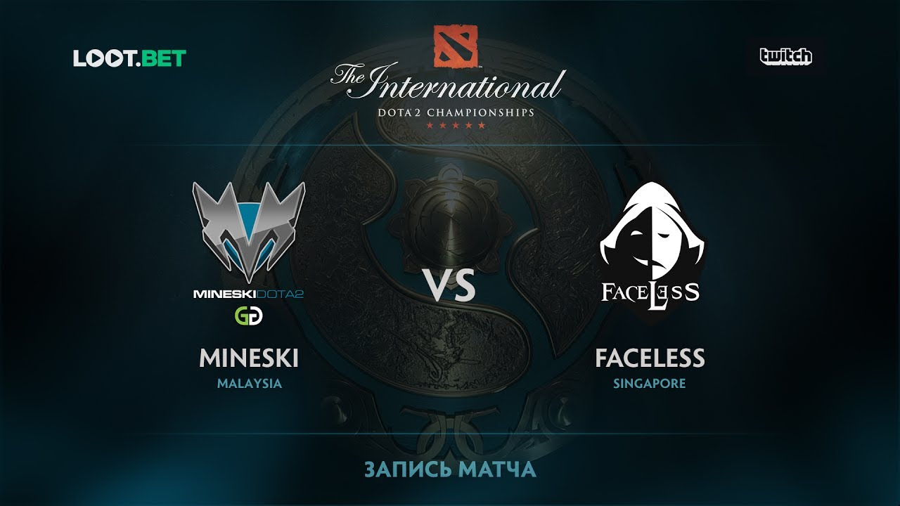 Mineski vs Faceless, The International 2017 SEA Qualifier