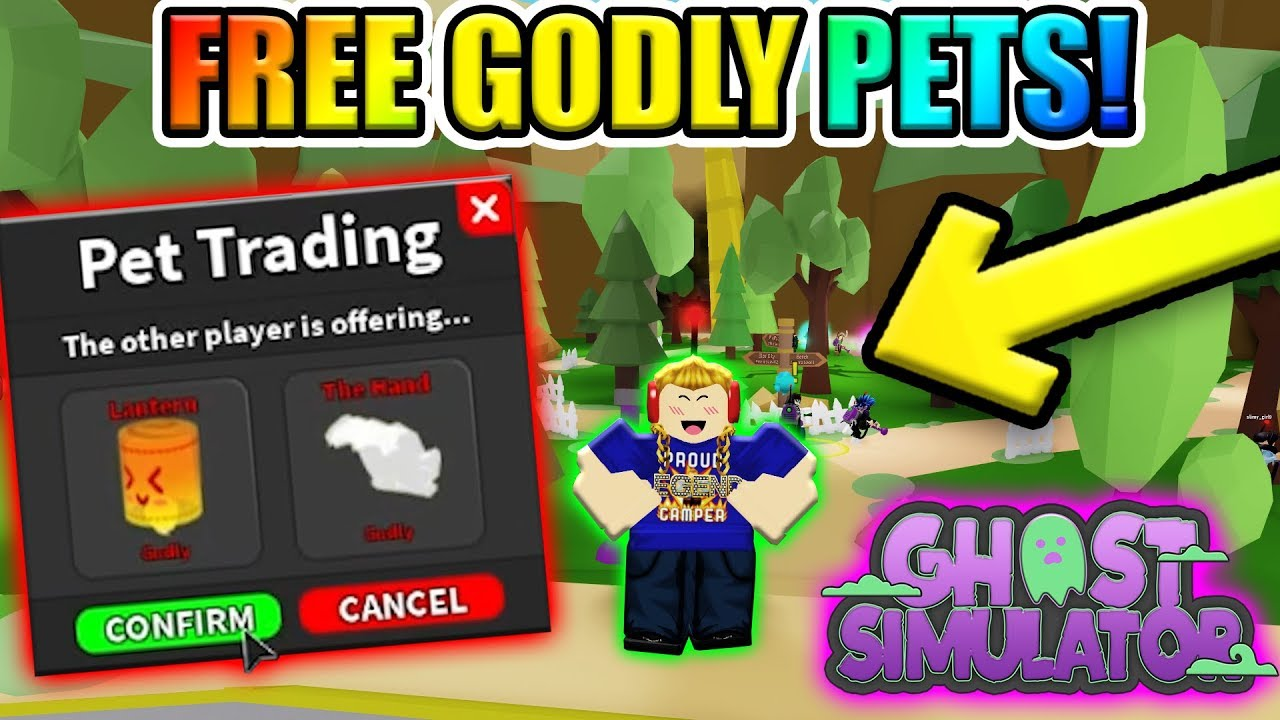 I Got 2 Godly Pets For Free Codes Roblox Ghost Simulator
