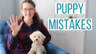 5 MISTAKES WE MADE WITH OUR MALTIPOO PUPPY | Mistakes New Dog Owners Make & How to Avoid Them