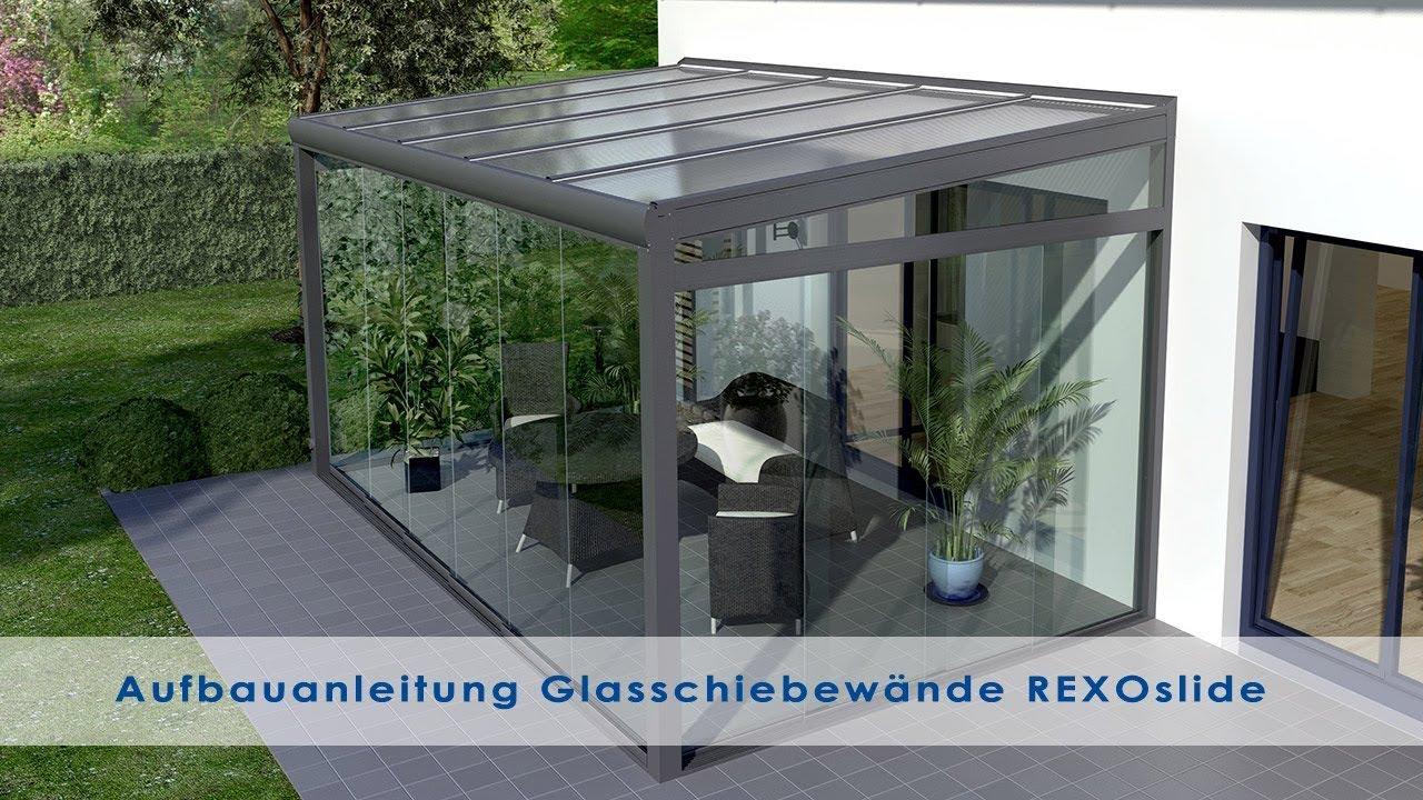 Glasschiebewande Fur Das Terrassendach Gartenzimmer Bauen