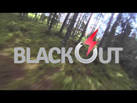 Blackout Mini H Quad - Blurry forest
