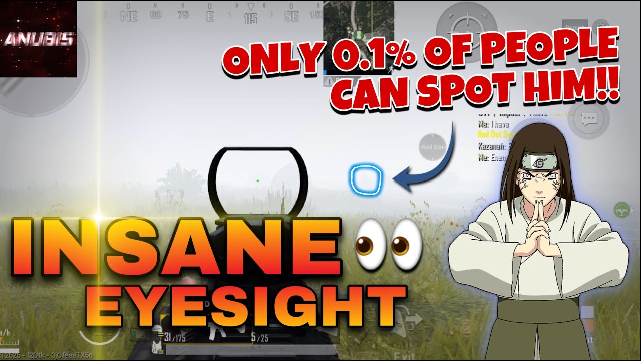 ONLY 0.1% Of People Can Spot Him!! | INSANE PUBG MOBILE MONTAGE