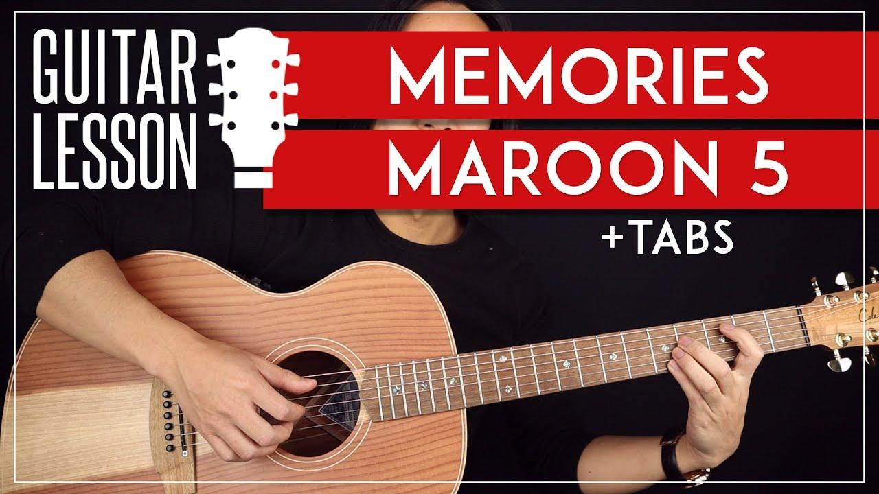 Memories Guitar Tutorial  ????Maroon 5 Guitar Lesson |No Capo + Easy Chords|