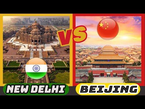 Delhi vs Beijing | India vs China (Two powerful nations in Asia)