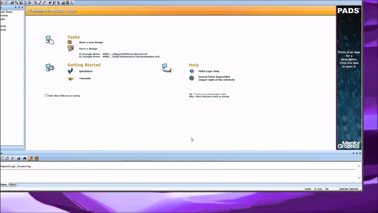 Mentor Graphics PADS 9 3 Tutorial - Introduction Part 1