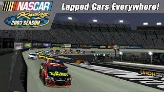 So Much Lapped Traffic! | NASCAR Racing 2003 Season | Bristol