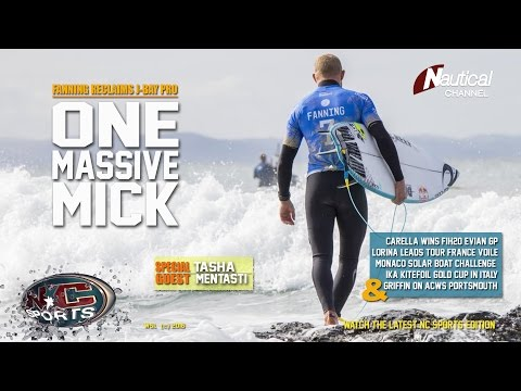 NC Sports  22 July Fanning's J-Bay, GP Evian, ACWS Portsmouth, Kitefoil Gold Cup