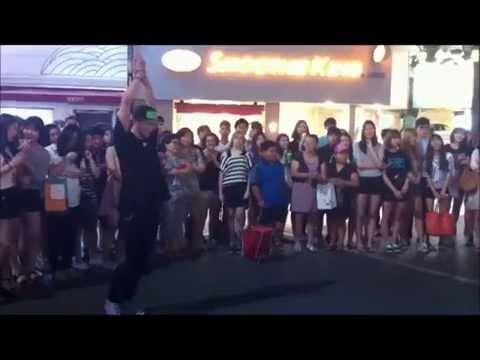 Street Dancing in Seoul
