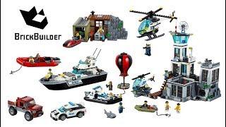 Lego City Prison Island 2016 Compilation - Lego Speed Build