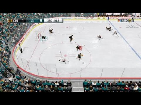 National Broken Hockey League 2018 - Chicago Blackhawks @ San Jose Sharks 10/7/17