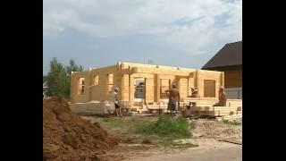 Строительство домов из клееного бруса. Дом из северного леса. Сибирская сосна.(, 2016-09-25T16:22:12.000Z)