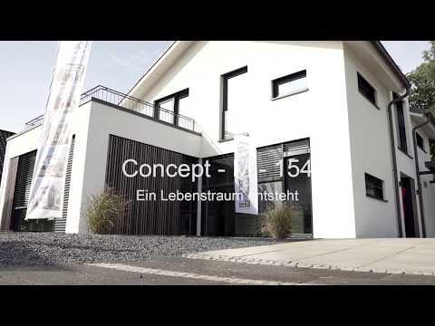 Fertighaus Aufbau Unser Musterhaus Concept M 154 In Hannover