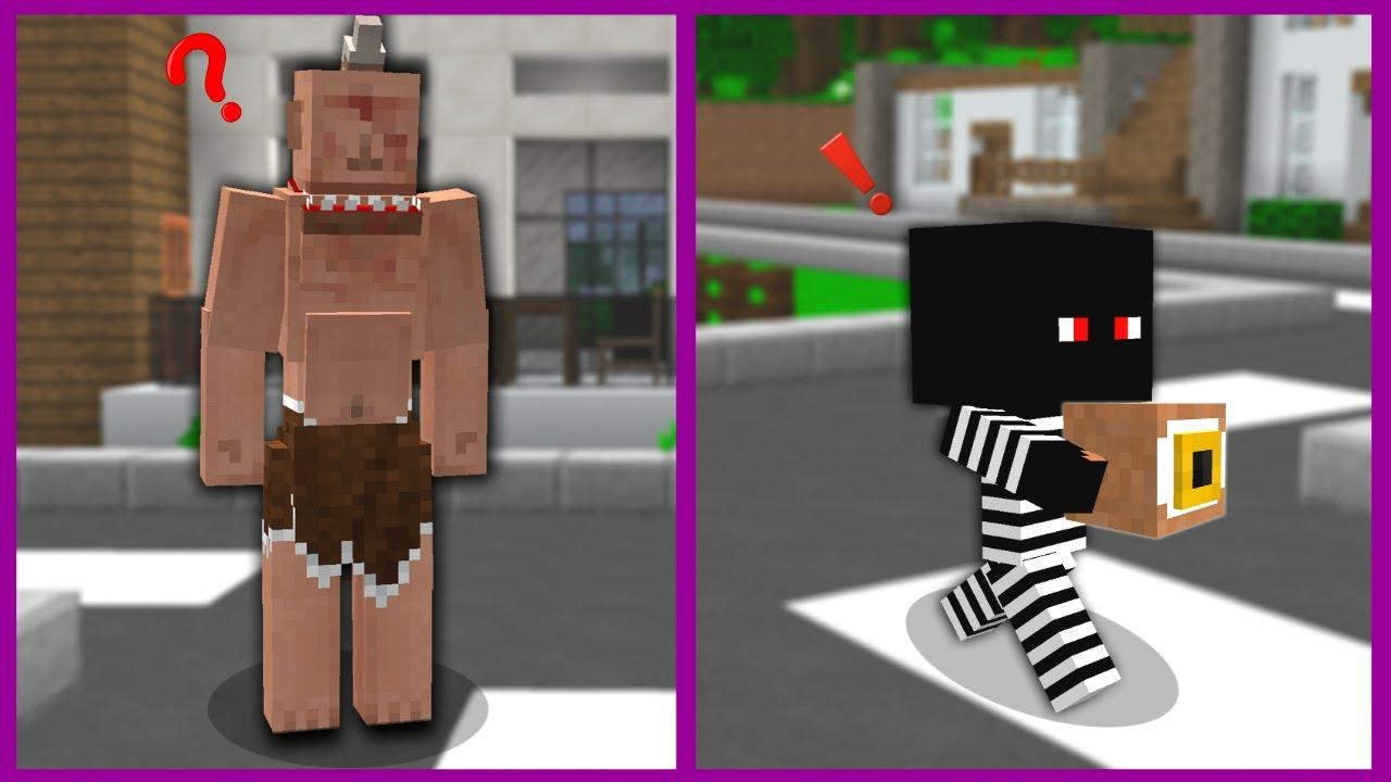 HIRSIZ BEBEK TEPEGÖZ'ÜN GÖZÜNÜ ÇALDI! 😱 - Minecraft
