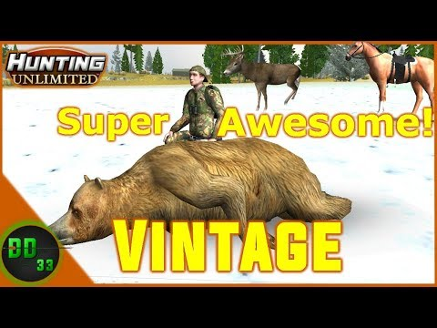 Playing The Most Vintage Hunting Game EVER!!