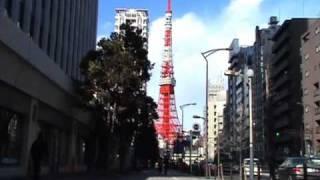 三田国際ビル前の三田通り   三田マップ