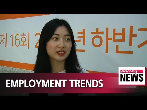 Employment trends in South Korea