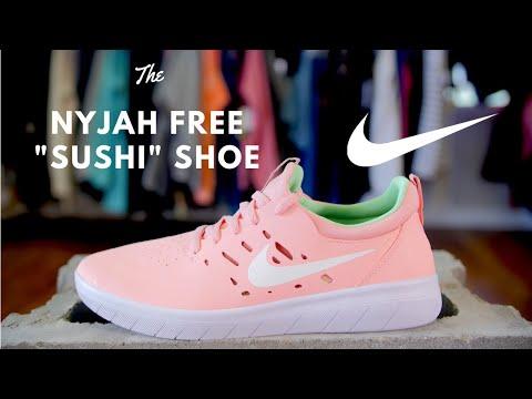 The Nike SB Nyjah Free Shoes \