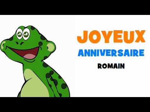 bon anniversaire romain
