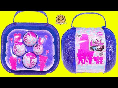 New LOL BIGGER Surprise Family - Big Sister, Brother , Baby + OMG Doll