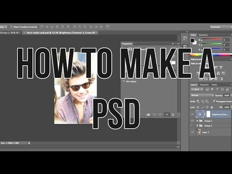 How To Make A PSD Tutorial (TUMBLR) Using PSCS6