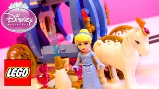 Lego Disney Princess Cinderella's Dream Carriage Lego Cinderella's Romantic Castle Disney Toys