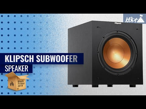 klipsch-subwoofer-speaker-black-friday-/-cyber-monday-2018-|-black-friday-buying-guide