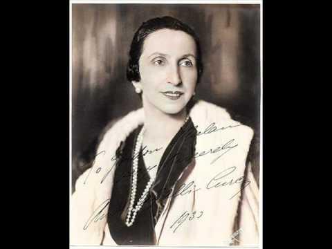 Amelita Galli Curci - La Paloma (con testo spagnolo).wmv