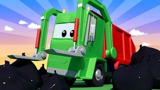 Gary ajuda a Amber - Cidade do Trem 🚄 Cidade do Carro - Desenhos Animados para Crianças. 🚄