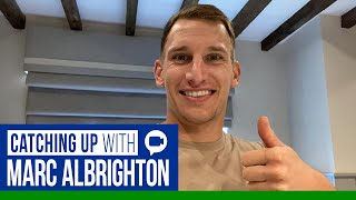 Catching Up With Marc Albrighton Via Video Call